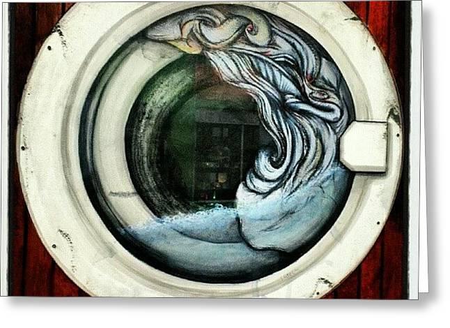Best Use Of A #porthole #window I've Greeting Card