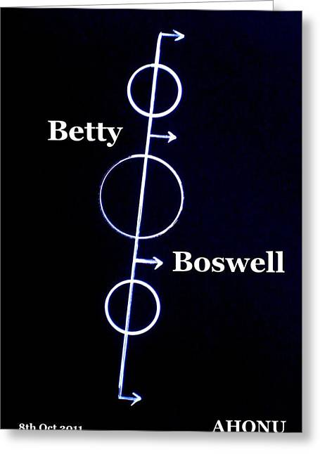 Betty Boswell Greeting Card