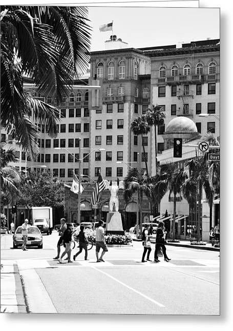 Beverly Wilshire Greeting Card
