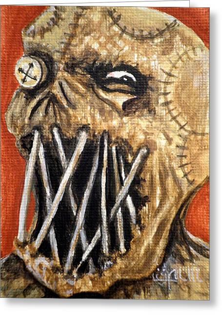 Beware The Fear Greeting Card by Al  Molina