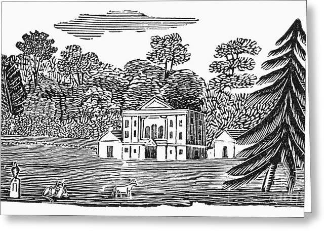 Bewick: Landscape Greeting Card by Granger