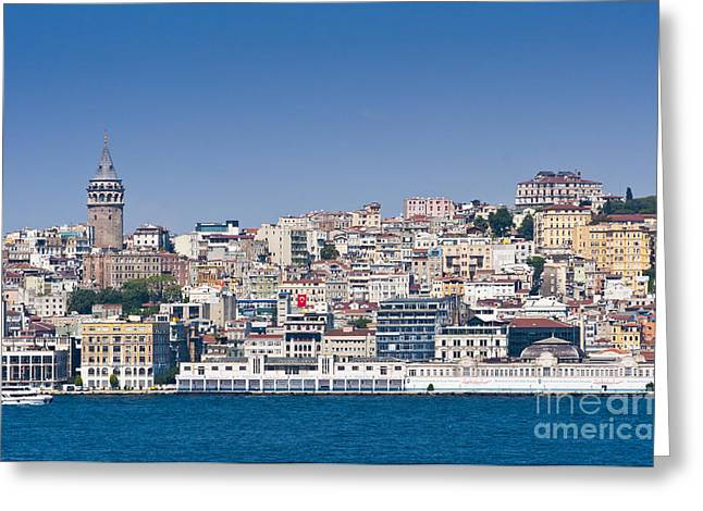 Greeting Card featuring the photograph Beyoglu by Andrew  Michael