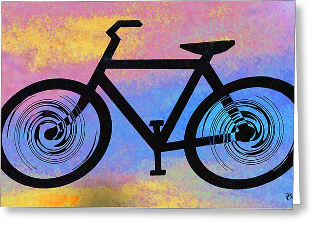 Bicycle Shop Greeting Card by Bill Cannon