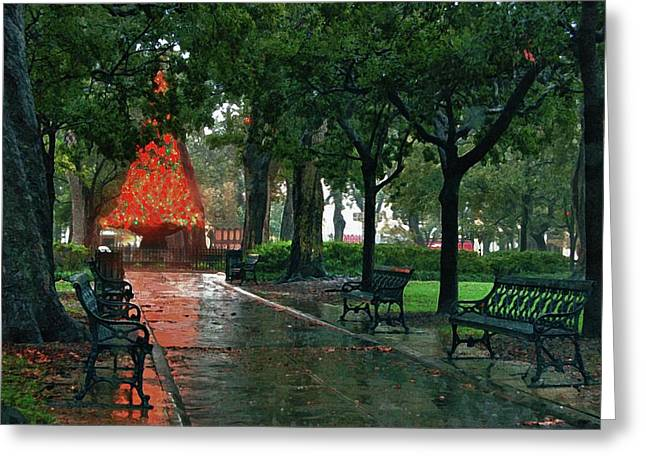 Bienville Square Greeting Card