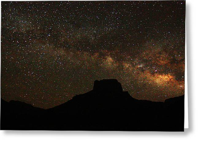 Big Bend Night Greeting Card