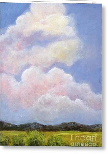 Big Blue Colorado Sky Greeting Card