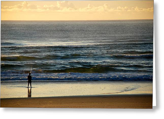 Greeting Card featuring the photograph Big Ocean  by Eric Tressler