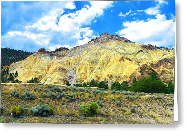 Big Rock Candy Mountain - Utah Greeting Card