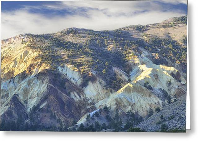 Big Rock Candy Mountains Greeting Card