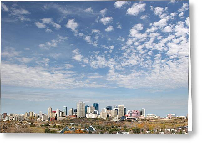 Big Sky Yeg Greeting Card