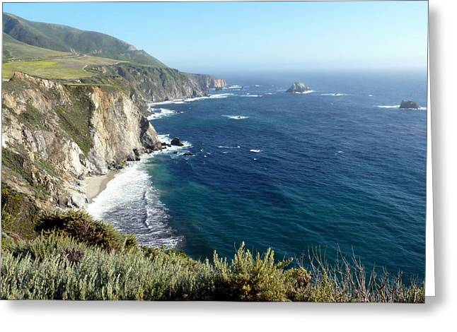 Big Sur Greeting Card by Carla Parris