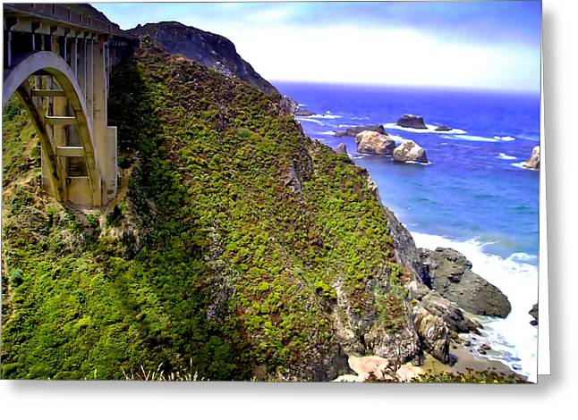 Big Sur IIi Greeting Card by Ellen Heaverlo