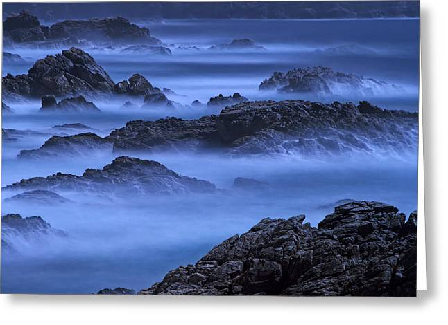 Greeting Card featuring the photograph Big Sur Mist by William Lee