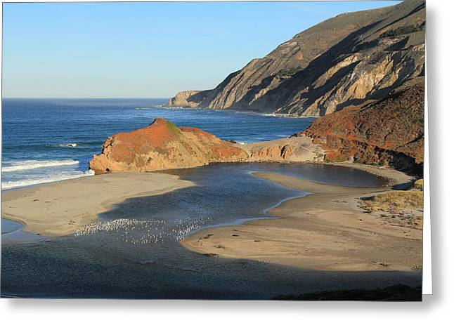 Greeting Card featuring the photograph Big Sur by Scott Rackers