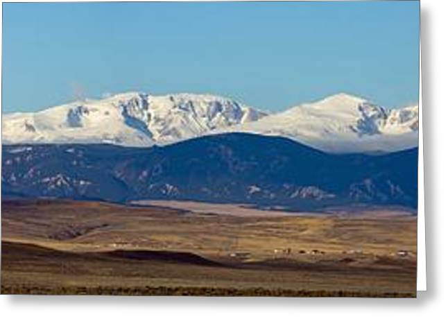 Bighorn Mountains Greeting Card