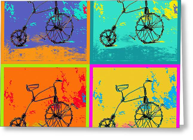 Bike 1b Greeting Card by Mauro Celotti