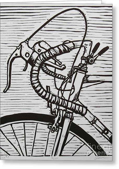 Bike 2 Greeting Card