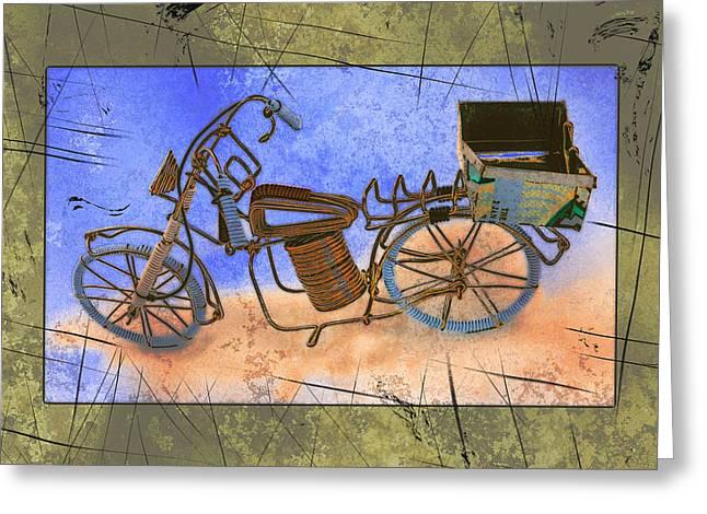 Bike 2a Greeting Card by Mauro Celotti