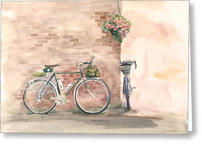 Bike Date Greeting Card