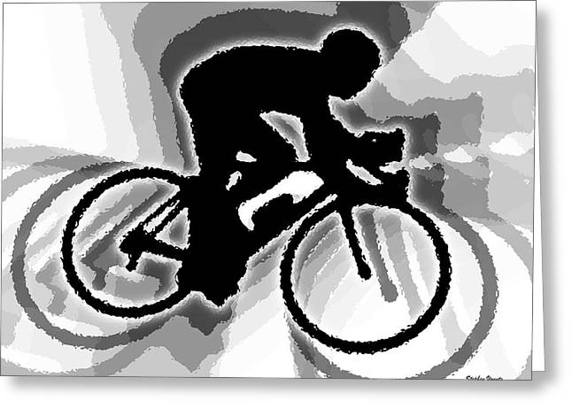 Bike Greeting Card by Stephen Younts