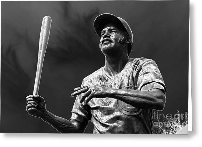 Billy Williams - H O F Greeting Card by David Bearden