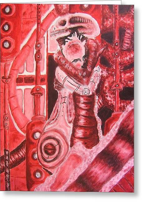Biomechanic I Greeting Card