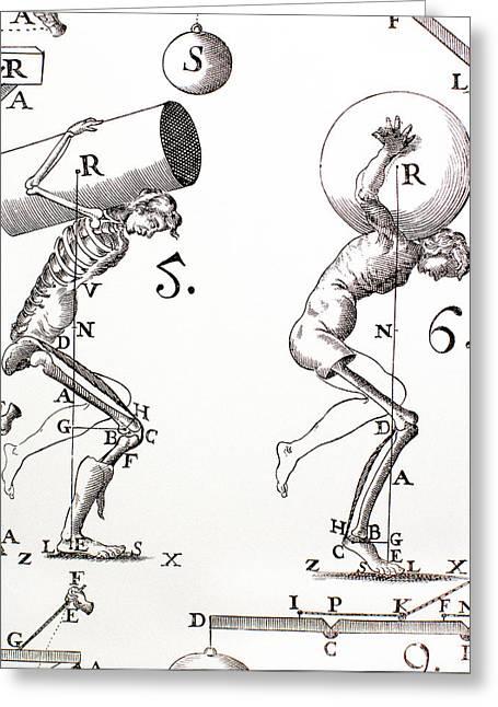 Biomechanics, Historical Artwork Greeting Card by Mehau Kulyk