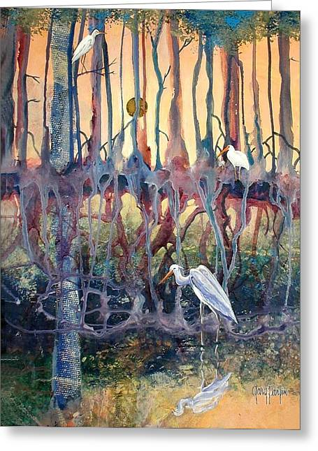 Birds Of The Water Greeting Card