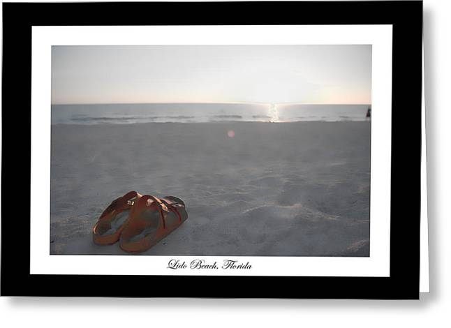 Birks On The Beach Greeting Card