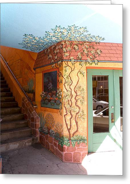 Bisbee Wall Art Greeting Card by Feva  Fotos