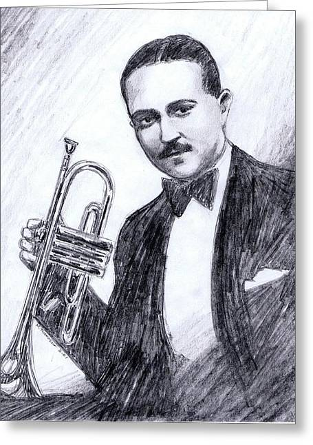 Bix Beiderbecke 1929 Greeting Card