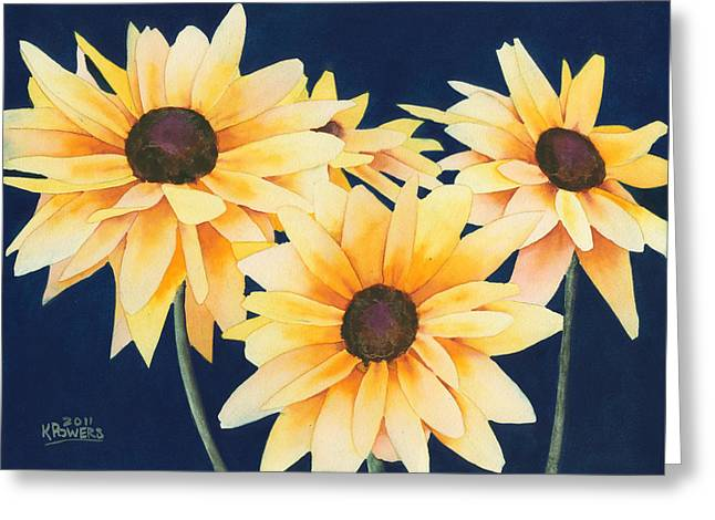 Black Eyed Susans 2 Greeting Card