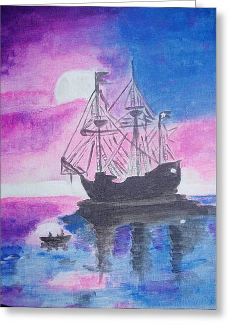Blackpearl Greeting Card