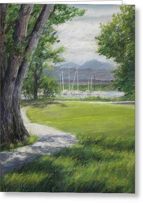 Blke Trail 1 Greeting Card by Susan Driver