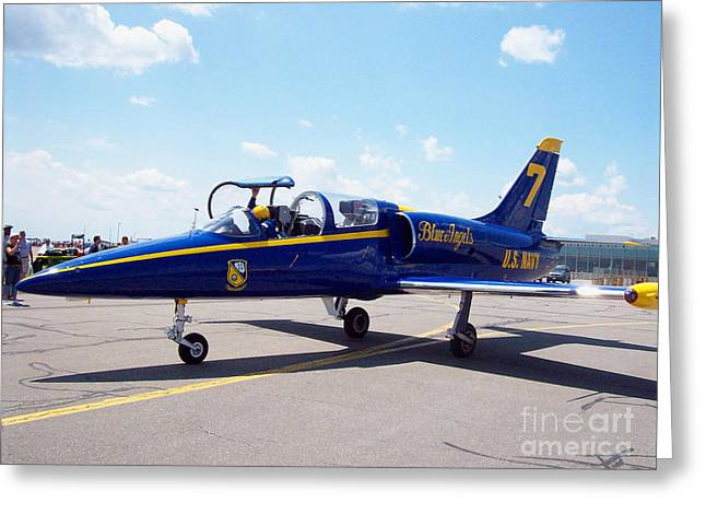 Blue Angel 7 Greeting Card by John From CNY