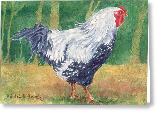 Blue Hen  Greeting Card