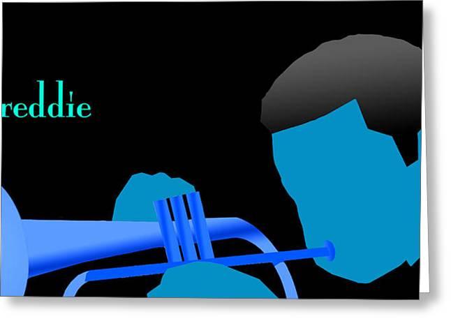 Blue Hub Greeting Card