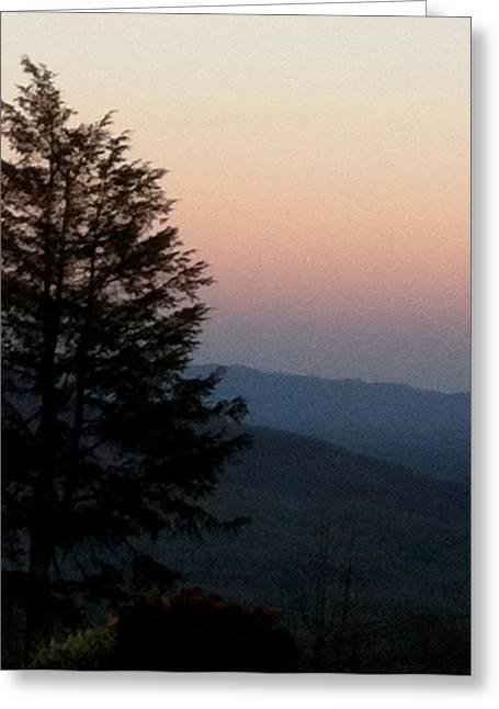 Blue Ridge Mountains Greeting Card by Elizabeth Coats