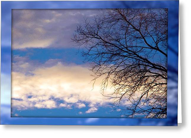 Greeting Card featuring the photograph Blue Sky by Michelle Frizzell-Thompson