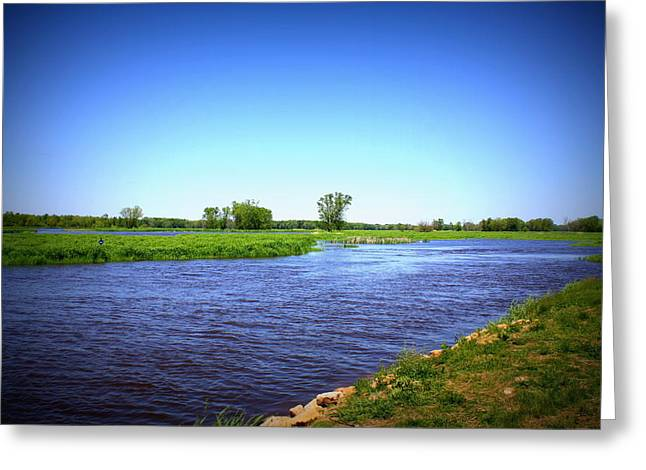 Blue Waters Greeting Card