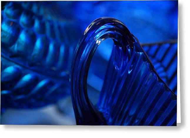 Blue Wave Greeting Card by Eamon Forslund