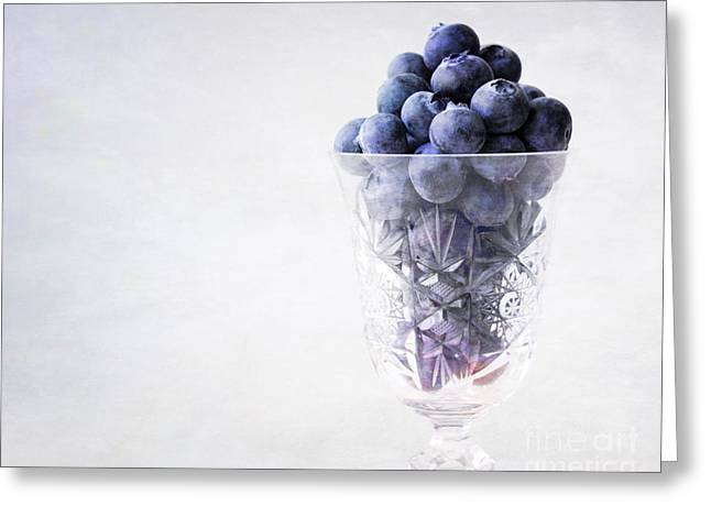 Blueberry Wine Greeting Card