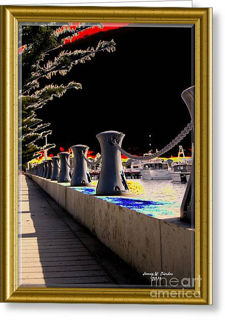 Boardwalk Greeting Card by James  Dierker