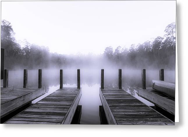Boat House Greeting Card by Mary Sparrow