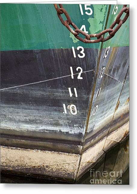 Boat Hull Greeting Card by Paul Edmondson