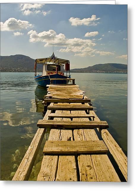 Boat II Greeting Card