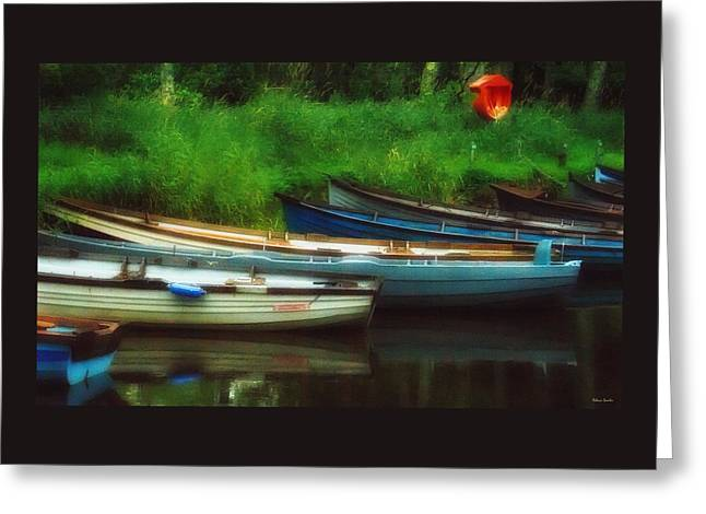Boats At Rest Greeting Card