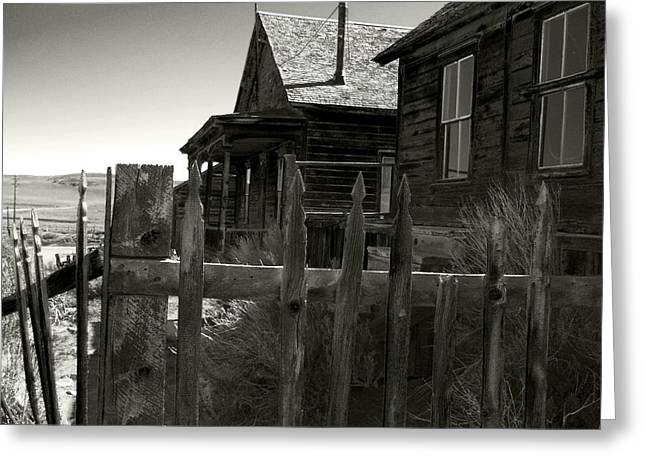 Bodie Cabins 4 Greeting Card by Philip Tolok