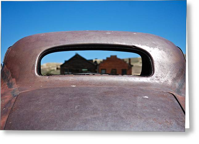 Bodie Ghost Town I - Old West Greeting Card