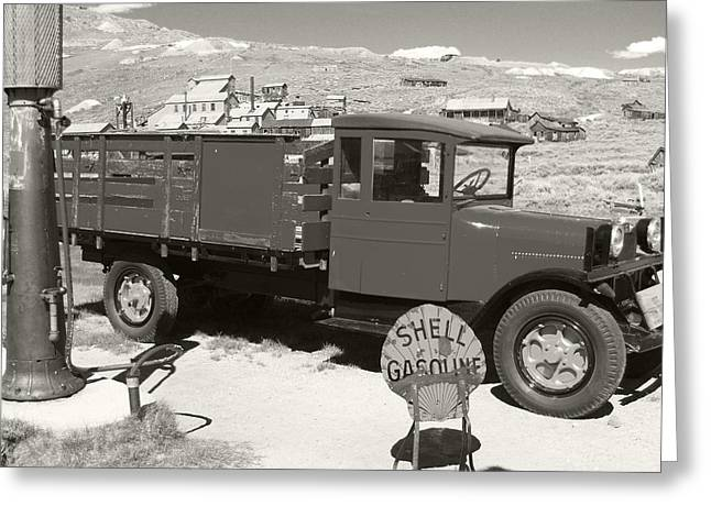 Bodie Shell Gasoline 2 Greeting Card by Philip Tolok